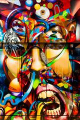 Imagine That (Thomas Hawk) Tags: america california mission missiondistrict sanfrancisco usa unitedstates unitedstatesofamerica graffiti fav10 fav25