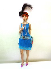 (Silli'on) Tags: bjd bjddol bjdphoto abjd fashiondoll woman redhead raccoondoll raccoondolllucy lucy