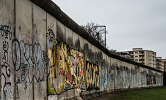 The Wall (nickyt739) Tags: berlin wall east west germany no mans land graffiti colour black white bw noir history ww2 deutschland sombre sad reflective dramatic selective nikon dslr fx d750 flickrsbest europe capital city moody travel explore