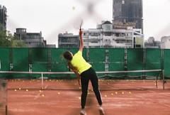 00003222 (ee380d) Tags: 人 運動 網球 跳