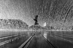 I think there should be more joy, a good start, definitely. (Hendrik Lohmann) Tags: streetphotography street lisboa lissabon lisbon waterfall joy blackandwhite bwstreet bnw bw wideangle sun sunlight