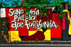 I am a furious little bee (Marco Trovò) Tags: marcotrovò hdr canong1x milano italia italy città city strada street edificio building naviglio waterway graffiti murale mural aldamerini