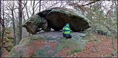 Felsengebilde in der Felsenwelt am Ratschberg (Christoph Bieberstein) Tags: tschechien tschechische republik böhmen czech republic bohemia čechy česko ceská republika daubaer schweiz dubské švýcarsko kokořínsko sandstein sandstone pískovec geologie verwitterung felsen rock felsgebilde svatováclavská stěna