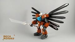 Mech Monday #5: 50-RR (Marin Stipkovic) Tags: lego moc myowncreation mech mecha drone robot monday custommodel