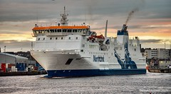 MV Hrossey - Northlink Ferry Aberdeen Harbour Scotland - 10/02/2019 (DanoAberdeen) Tags: danoaberdeen shetlands kirkwall passengerferry passengership northlinkferry roro ferry hrossey 2019 candid amateur aberdeen ship harbour seaport offshore shipping boat vessel abdn abz uk gb tug seafarers maritime workboats fittie footdee fitdee northeast scotland northsea merchantships oil ecosse aberdeenshire psv aberdeenharbour aberdeenscotland shipspotting shipspotters grampian autumn summer winter spring scotch oilrigs supplyships oilships cargoships tugs water pocraquay torry marineoperationscentre bluesky transport geotag tugboats danophotography aberdeencity sailing marine mariner shippingworldwide haulage watercraft