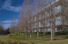 South Sciences Building (jvde) Tags: 3570mmf3345nikkor burnaby coolscan film fujicolor400 nikonfe sfu