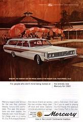 1965 Mercury Colony Park Wagon Ford USA Original Magazine Advertisement (Darren Marlow) Tags: 1 5 6 9 19 65 1965 f ford m mercury c colony p park w wagon car cool collectible collectors classic a automobile v vehicle u s us usa united states american america 60s