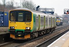 150105 West Midlands Railway Unit (photobobuk - Robert Jones) Tags: 150105 westmidlandsrailway unit ecs tyseley birminghamnewstreet hereford service railways transport trains smallheath westmidlands birmingham uk