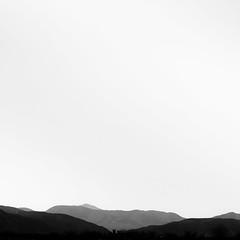 Vanishing Landscape 023 (noahbw) Tags: anzaborregodesertstatepark california d5000 nikon abstract autumn blackwhite blackandwhite bw desert horizon landscape minimal minimalism monochrome mountains natural noahbw quiet sky square still stillness