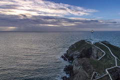 South Stack Lighthouse (Landscape) (ClydeHouse) Tags: lighthouse southstack holyisland angelsey ynyslawd byandrew trinityhouse newyearsday wales coast sea mon