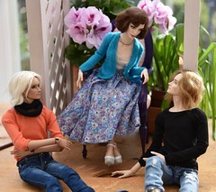 Admirers! (stashraider) Tags: natalialoseva elena reiner resin ball jointed doll porcelain men rosie