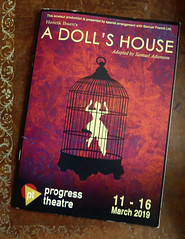 March 12th, 2019 A Doll's House at the Progress Theatre (karenblakeman) Tags: reading uk progresstheatre theatre programme adollshouse henrikibsen march 2019 2019pad berkshire
