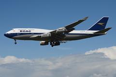 British Airways BOAC Retro Livery 747-436 (G-BYGC) LAX Approach 4 (hsckcwong) Tags: britishairways britishairwaysboacretrolivery boacretrolivery gbygc lax klax 747436 747400 744