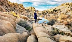 At Barker Dam in Joshua Tree National Park (Randy Durrum) Tags: barker dam joshua tree national park water blue rocks boulders california ca durrum samsung s9 plus