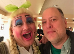 2018 YIP Day 349: Brad and I (knoopie) Tags: 2018 december iphone picturemail theater centerstage brad rapunzel friend 2018yip project365 365project 2018365 yiipday349 day349 doug knoop knoopie me selfportrait 365days 365daysyear7 year7 365more day2539