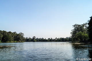 Bain autour d'Angkor