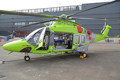 G-PICU Augusta Westland AW169 Childrens Air Ambulance Side On Farnborough Air Show 18th July 2018 (michael_hibbins) Tags: gpicu augusta westland aw169 childrens air ambulance side on farnborough show 18th july 2018 aeroplane aviation aircraft aerospace airplane aero airshow airfields airport airports helicopter heli helicopters civil commercial blade blades rotor rotors g british britain united kingdom uk england english europe european