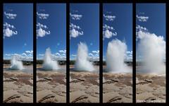 Iceland_Geysir_Collage (Lothar Heller) Tags: lotharheller geysir iceland island islandia sky