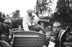 Grandma Telling Stories (dualdflipflop) Tags: disney disneyland people f100 nikon nikonf100 blackandwhite bw film filmphotography analog