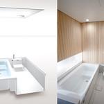 浴室ユニットの写真