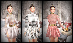 LuceMia - JUMO at On9 Event (2018 SAFAS AWARD WINNER - Favorite Blogger - MISS ) Tags: jumo on9event event sophie dress plaid sophiedress hair sl secondlife mesh fashion creations blog beauty hud colors models lucemia
