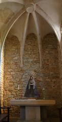 ESGLESIA DE FONTCLARA - DETALL (Joan Biarnés) Tags: fontclara baixempordà girona catalunya fontanilles esglesia iglesia 290 panasonicfz1000