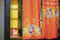 NOREN - Japanese curtain (masak.masak) Tags: japan tokyo restrant curtain tradition color store culture