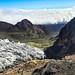 Glaciar Hermoso hacia el valle