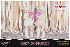 { Bellybean } Best Of Friends AD (Bella Parker) Tags: toddleedoo toddler toddleedooblogger td tdevent tdposes bento bentopose slbento pose poses tdpose slpose cutepose kawaiipose secondlife sl slfamily slrelease slevent event release tdrelease