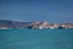Sea Level (markus_langlotz) Tags: baska croatia kroatien sea meer waves wellen türkis blau turquoise blue sky himmel berge mountains shoreline küstenlinie landscape landschaft dramatic dramatisch