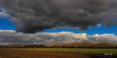 Nuage menaçant (DOMVILL) Tags: norddefrance ciel domvill nuages paysage plaine wwwflickrcompeoplevildom