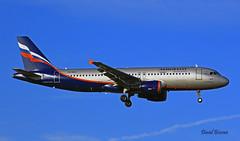 Airbus A320 ~ VQ-BAX  Aeroflot (Aero.passion DBC-1) Tags: spotting cdg 2013 airport airlines airliner roissy aeropassion avion aircraft aviation plane dbc1 david biscove airbus a320 ~ vqbax aeroflot