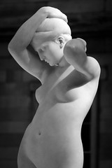 Forget Regret (dayman1776) Tags: black white marble sculpture metropolitan museum art beautiful nude female woman girl escultura statue skulptur sony a6000 nyc new york city telephoto light evening american court