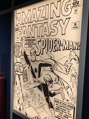 "Spider-man's First Comic • <a style=""font-size:0.8em;"" href=""http://www.flickr.com/photos/109120354@N07/33413500908/"" target=""_blank"">View on Flickr</a>"