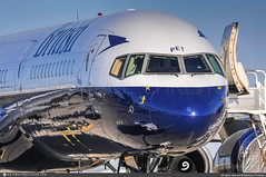 [VCV.2012] #British.Airways #BA #Retro.1970s #Boeing #B757 #G-CPET #Stokesay.Castle #awp (CHRISTELER / AeroWorldpictures Team) Tags: britishairways ba baw uk boeing b757 757 msn29115798 rr rb211 engines gcpet stokesaycastle retrolivery1970s special color federalexpress fedex fx fdx n956fd converted cargo victorville airport vcv kvcv ca california usa named maia 956 fleet number plane aircraft airplane historic spotter christeler aeroworldpictures awp team avgeek aviation avion b757200 stored spotting desert nikon d300s raw nef nikkor 70300vr lightroom 2012