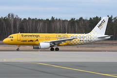 Eurowings | Airbus A320-214 | D-ABDU | NUE/EDDN | 2019-03-06 | Hertz decals | cn 3516 (airbus-a340) Tags: nue eddn albrecht dürer albrechtdürer nürnberg nuremberg germany airport flughafen flugplatz aircraft spotter airfield aviation plane planespotter air sky eurowings airbus a320214 airbusa320214 hertz cs cn3516 hertzdecals dabdu 20190306 decals