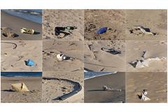 Trash - Plastic & Other (carmeloserrano#1) Tags: spiaggia beach mare sea inquinamento pollution ambiente ambient terra hearth rifiuti trash plastica plastic carmelo serrano carmeloserrano fujifilm fuji film finepix x30 gimp