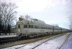 CB&Q 378 SILVER LOOKOUT (Chuck Zeiler 52) Tags: cbq 378 silverlookout burlington railroad budd passenger car observation naperville train chuckzeiler chz