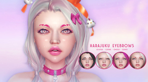 THIS IS WRONG Harajuku eyebrows - exclusive for Sanarae