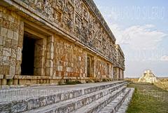 cerca del cielo (Mau Silerio) Tags: travel travelling viaggio voyage ruins mayan ancient building architecture piramids sony alpha uxmal messico mexic mexique yucatan