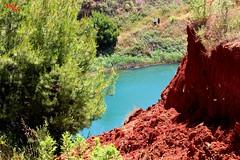 Scorcio sul lago - Glimpse of the lake (rocco944) Tags: rocco944 otranto lecce puglia italy salento lagodibauxite canoneos650d excavadibauxite