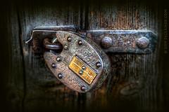 Security (sbox) Tags: lock padlock security textures door doorway sbox declanod