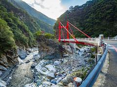 Taroko National Park, Taiwan (TeunJanssen) Tags: taroko nationalpark taiwan gorge bridge mountain road liwu river hdr canyon travel landscape backpacking traveling worldtravel worldtrip olympus omd omdem10