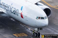 Boeing B777 American Airlines N750AN (Ana & Juan) Tags: airplane airplanes aircraft airport aviation aviones aviación boeing 777 b777 americanairlines american taxiing madrid mad madridbarajas lemd barajas spotting spotters spotter planes canon closeup tower