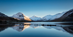 A cold Wasdale sunrise (Alf Branch) Tags: water wasdale wastwater westcumbria westernlakes landscape lakes lakedistrict lake lakesdistrict leicadg818mmf284 olympus omd olympusomdem5mkii cumbria cumbrialakedistrict calmwater refelections reflection alfbranch