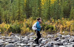 Day hike (thomasgorman1) Tags: rocks alaska hiking woman nature nikon outdoors travel