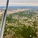 Flying north of Houston, Texas
