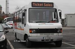 Bus Eireann ME202 (97G1858). (Fred Dean Jnr) Tags: dublin november2013 buseireann mercedesbenz eurocoach me202 97g1858 broadstonegaragedublin ticketsales