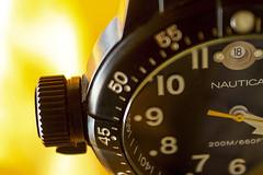 left button (maotaola) Tags: leftbutton macromondays timepieces macrofotografía macro watch blackwatch reloj nauticawatch
