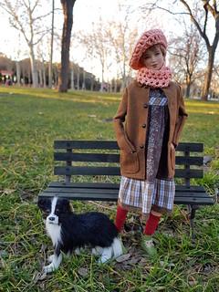 Sylvie at the park
